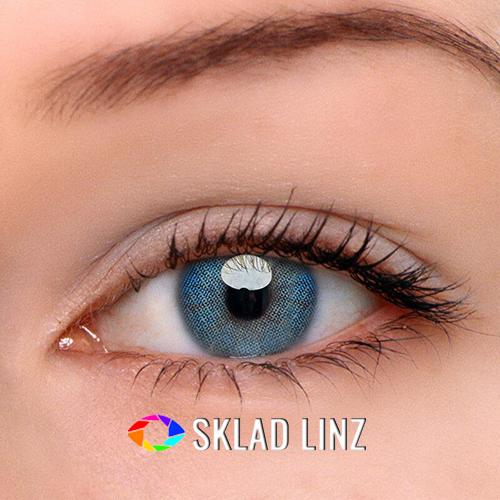 Лінзи для світлих очей - Айс Блу